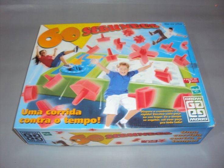 Brinquedo Antigo, Jogo 60 Segundos Da Grow Completo. - R$ 70,00 no MercadoLivre