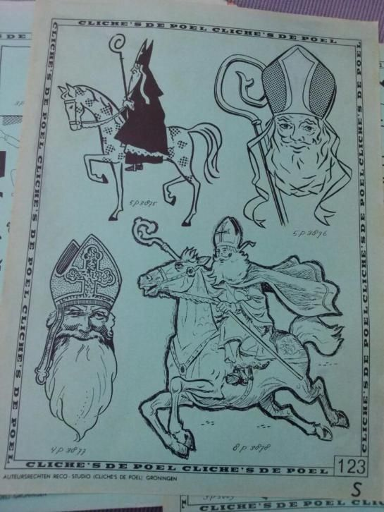 Sinterklaas clichés  Jr. 60