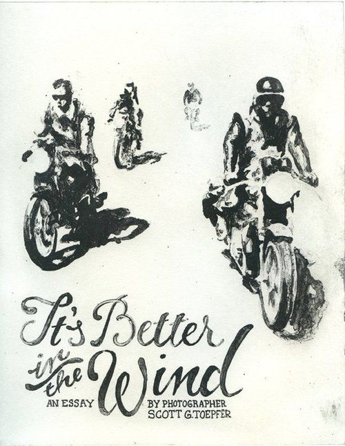 """""""It's Better in the Wind""""   #motorcycles #reading #motolove"""