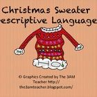What better way to work on  synonyms then describing crazy CHRISTMAS sweaters!!  This is a fun Christmas FREEBIE!!
