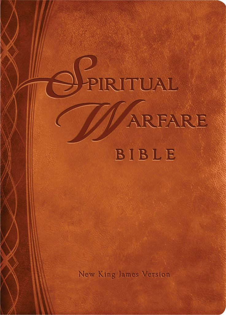 "[""The NKJV Spiritual Warfare Bible<\/i> is designed to help you use the Bible to access the power of the Holy Spirit against demonic strongholds and activity. With engaging study materials from Christian leaders and best-selling authors, this Spiritual Warfare Bible is perfect for both individual study and small groups. It uses the New King James Version (NKJV) of the Bible text, for a classical study of the Bible that is easy to read. Sections:<\/b>Spiritual Warfare Declarations - More…"