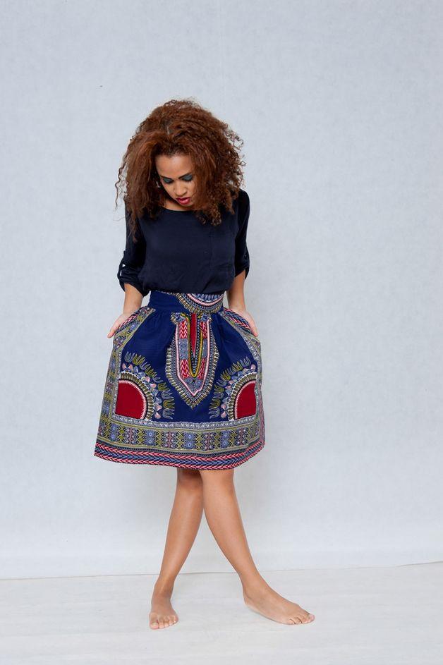 Spódnica Addis Abeba z Gambii - KOKOworld - Spódnice bombki