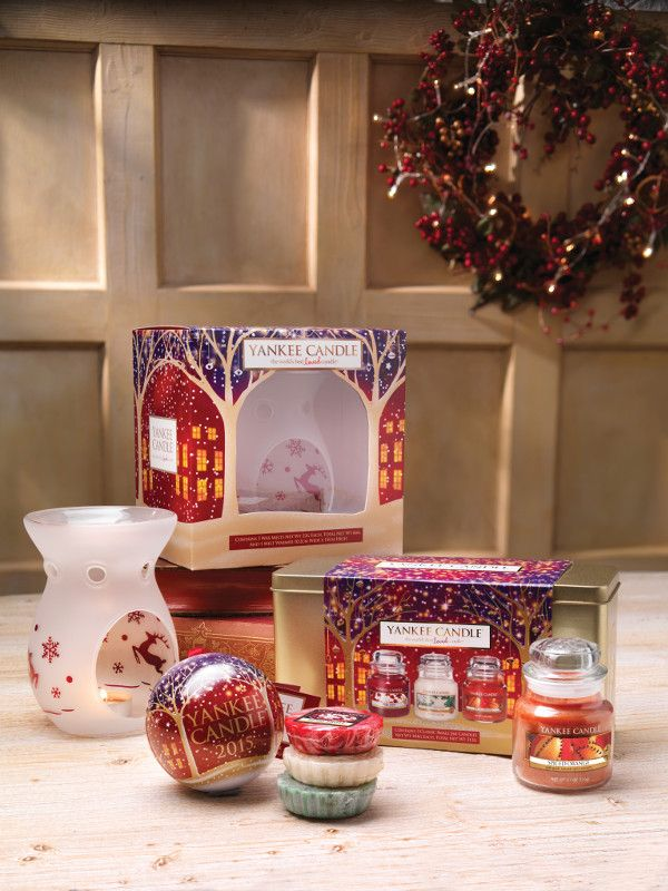 Discover the best of #festive giftsets from #YankeeCandle this season.