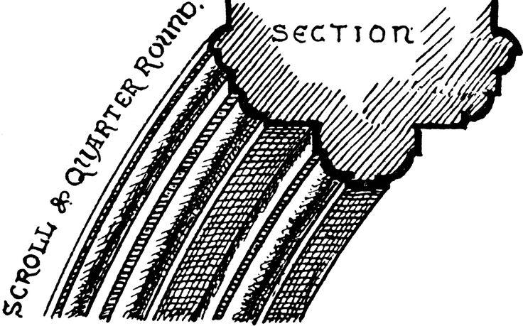 gothic cornice cross section - Szukaj w Google