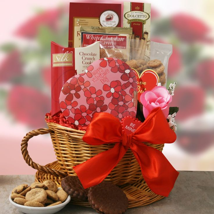 171 best diy valentine gift ideas images on pinterest gift valentines day basket ideas my valentine gift basket holiday gift baskets at gift baskets negle Image collections
