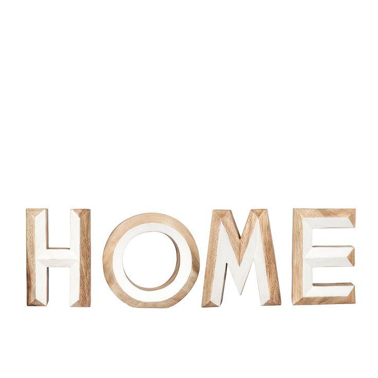 Home decor, HOME letter set