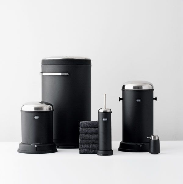 Kitchenware Products | Vipp products black Modular Stainless Steel Kitchen from Vipp