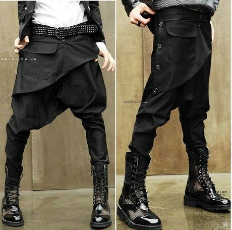 2014 Men leisure clothing personalized drop crotch pants fashion hip hop pants bandana pants outdoors sport tactical harem pants $49.00
