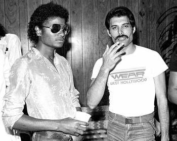 Michael Jackson & Freddie Mercury