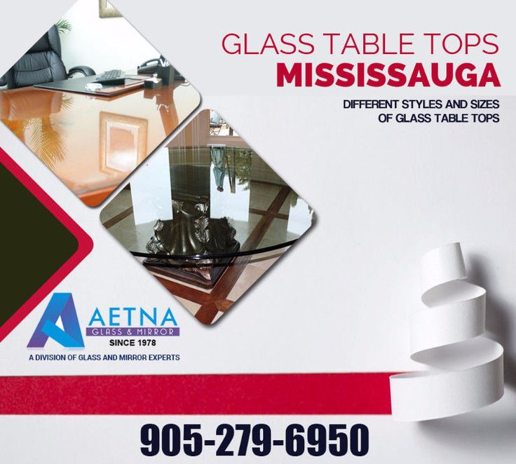 Aetna Glass & Mirror proudly offers #quality #glass #table #tops #replacement and #repair services in #Mississauga. So visit at aetnaglass.CA today. For More Detail Call us:- 905-279-6950 visit:- http://www.aetnaglass.ca/glass-table-tops-mississauga.html  #GlassTableTopsMississauga #Glasstabletops