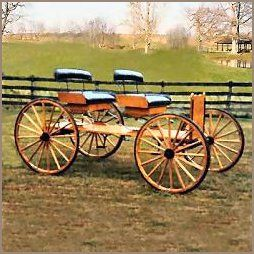 buckboard wagon | Horse Drawn Wagons, Buggys, Carriges, Buckboards, Chuck Wagons ...