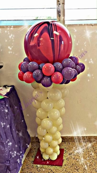 ice cream cone - balloon sculpture