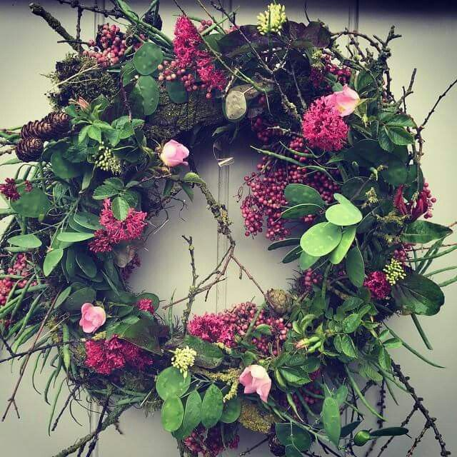 Paula pryke door wreath