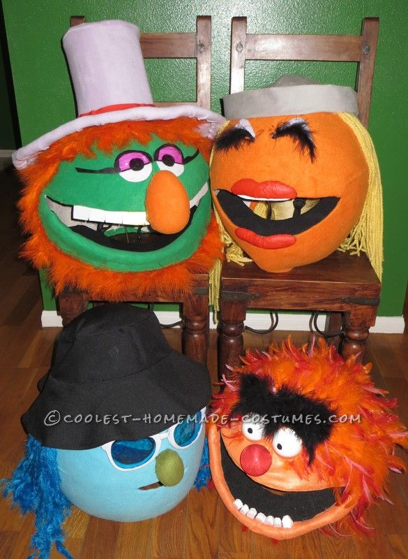 Funnest Group Costume Ever: The Electric Muppet Mayhem Band! - 8