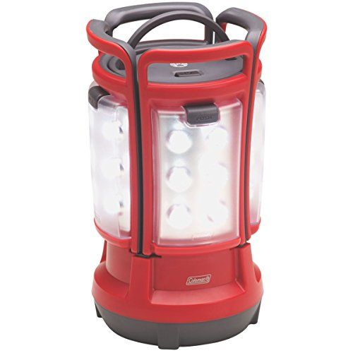 Coleman Quad(TM) LED Lantern. For product info go to:  https://all4hiking.com/products/coleman-quadtm-led-lantern/