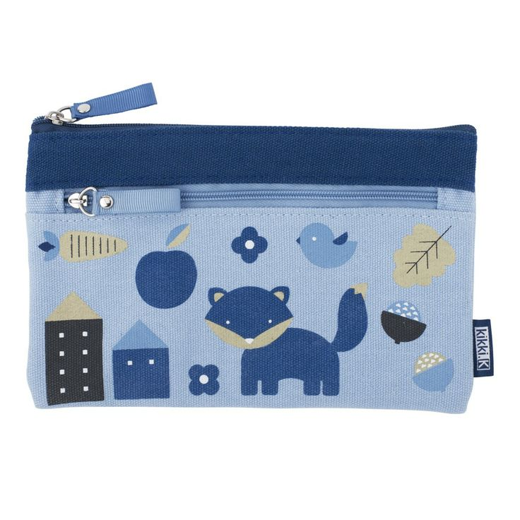 Store stationery essentials in this sweet canvas Pencil Case. Pretty and practical – throw in your bag so you're never without a pen or pencil. #backtoschool