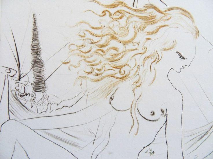 ДЕКАМЕРОН (Le Decameron). Книга с иллюстрациями Сальвадора Дали. Париж, Michèle Broutta, 1972 год за 990000 руб. Купить