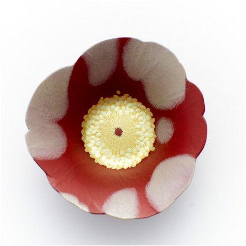 Camellia Lacquer Cup, Yoko NOGUCHI, Japan 椿 野口洋子