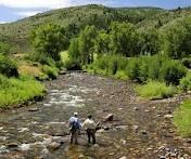 Colorado fly fishing...hard to beat!  Eagle River.