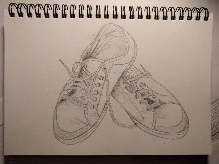Dibujo elaborado para la práctica 2, con lápiz de grafito en un cuaderno de dibujo.