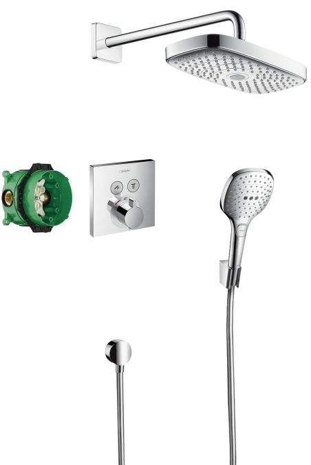 Hansgrohe Design zuhanyszett Raindance Select E / ShowerSelect 27296 000 (27296000) - SzaniterPláza