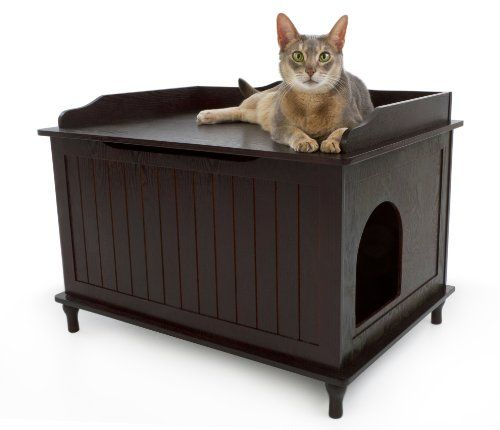 43 best images about Cat Litter Box Furniture on Pinterest