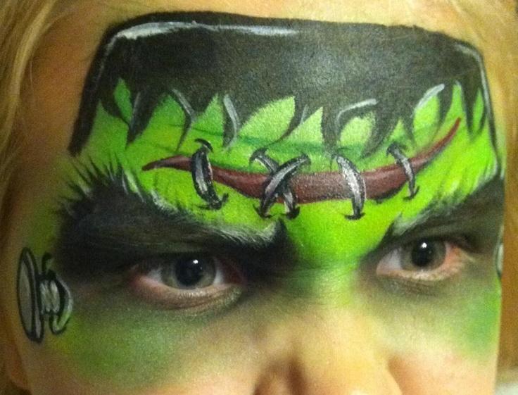 Frankie face paint facepaint face painting