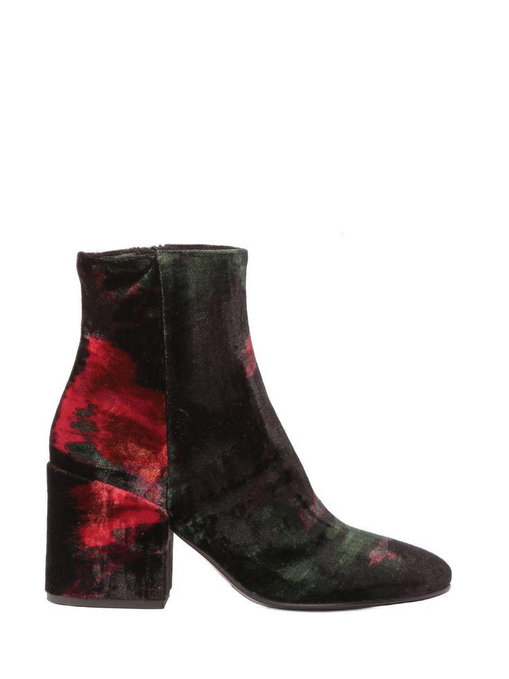 #Flowers & #Velvet <3 Ankle Boots by STRATEGIA www.strategiajfk.it