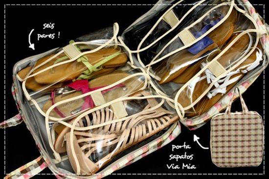Porta sapatos Via Mia. Foto: RitaPrado