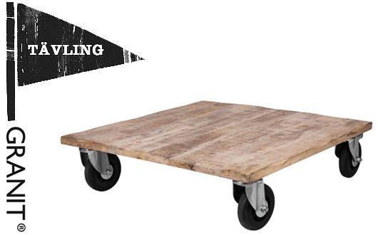 Tävla och vinn ett nytt soffbord från Granit värde 2799 kr (via Bloglovin.com )