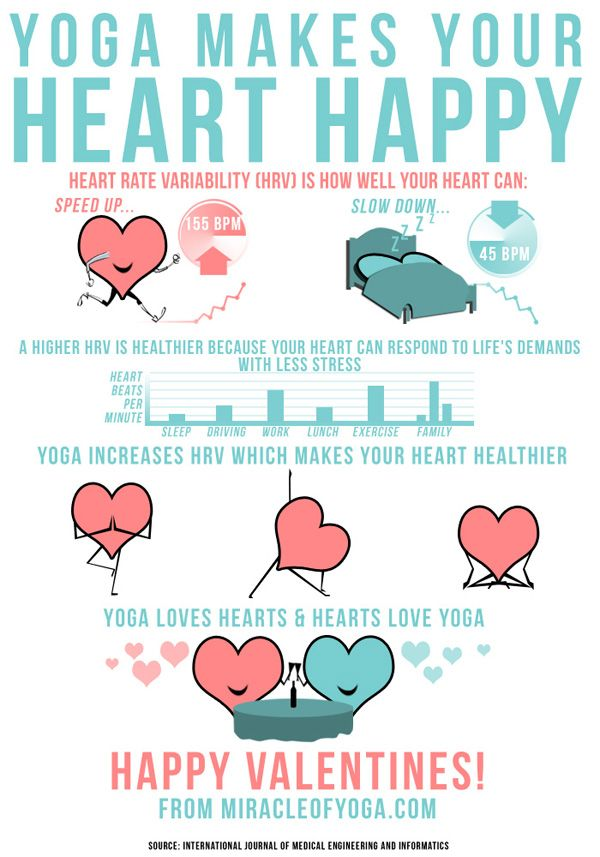 valentine's day yoga sequence
