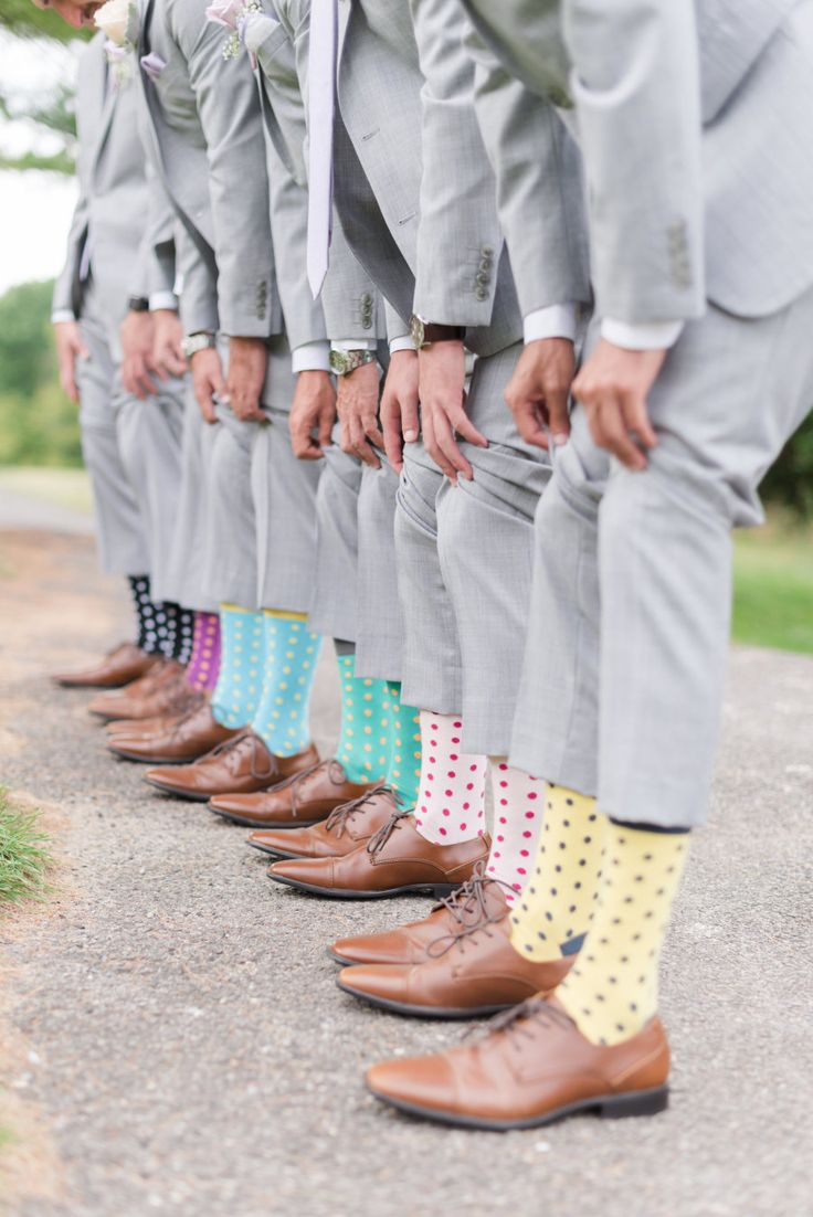 These socks are great! Photography - Assistance: Cassady Adams - www.cassadykphotography.com/ Wedding Photographers: Mekina Saylor Weddings - mekinasaylor.com   Read More on SMP: http://www.stylemepretty.com/2017/01/17/from-friend-zone-to-the-prettiest-happily-ever-after/