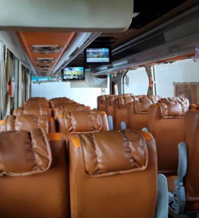 Sewa Bus Pariwisata Seat 37 di Jogja   Sewa Bus Jogja