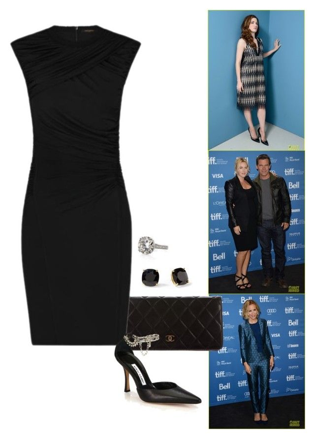 """'Tom & Derek' 2013 Toronto International Film Festival Photocall - Part 1."" by foreverforbiddenromancefashion ❤ liked on Polyvore featuring Chanel, Manolo Blahnik and Kate Spade"