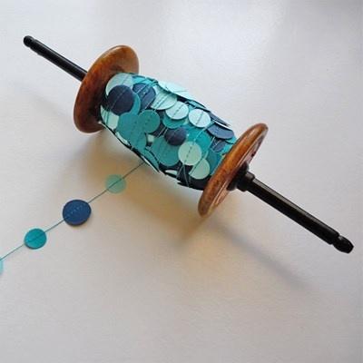 Confetti Slinger Blauw