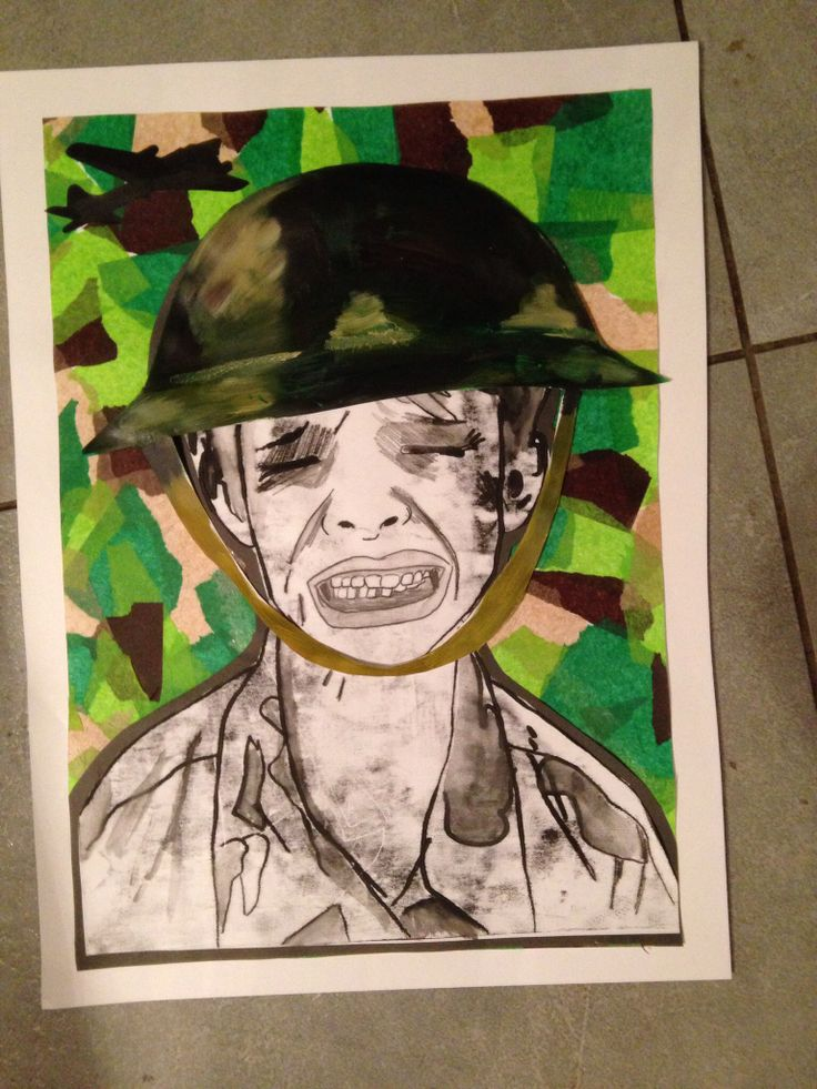 ww2 art project