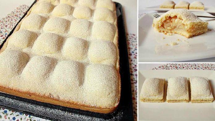 Fantastický jablečný koláč pro celou rodinku! Rychlé a jednoduché! – Milujeme recepty