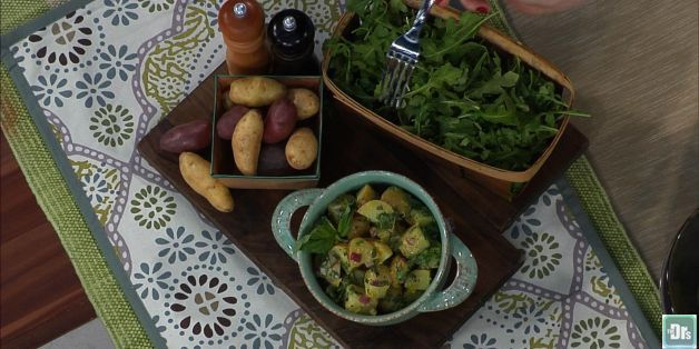 The Healthy Potato Salad Recipe You Need For Your Next Party