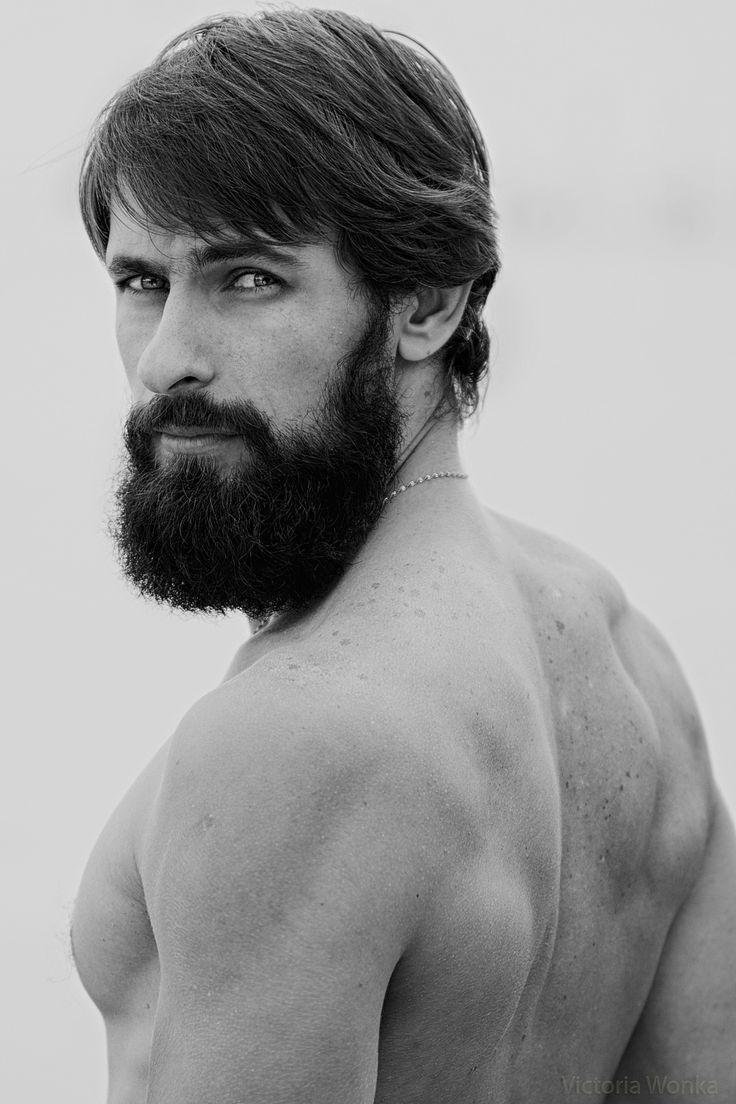 man half lang haar