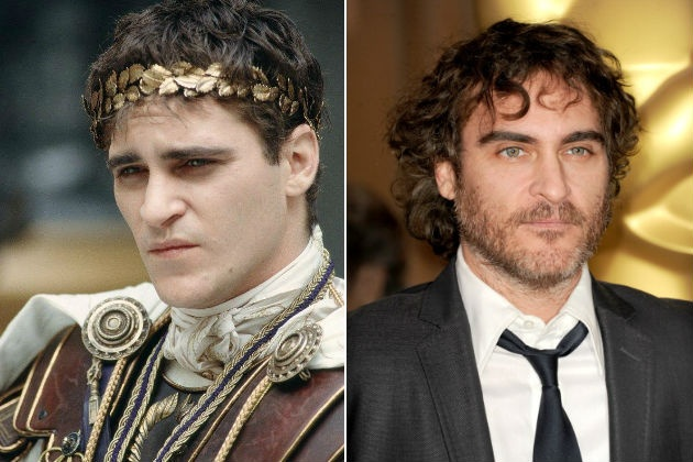 Gladiator cast: then and now - Joaquin Phoenix, Commodus