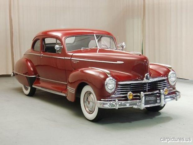 1946 Hudson Super Six Coupe @carpictures classic cars, vintage cars, old cars, car pictures,