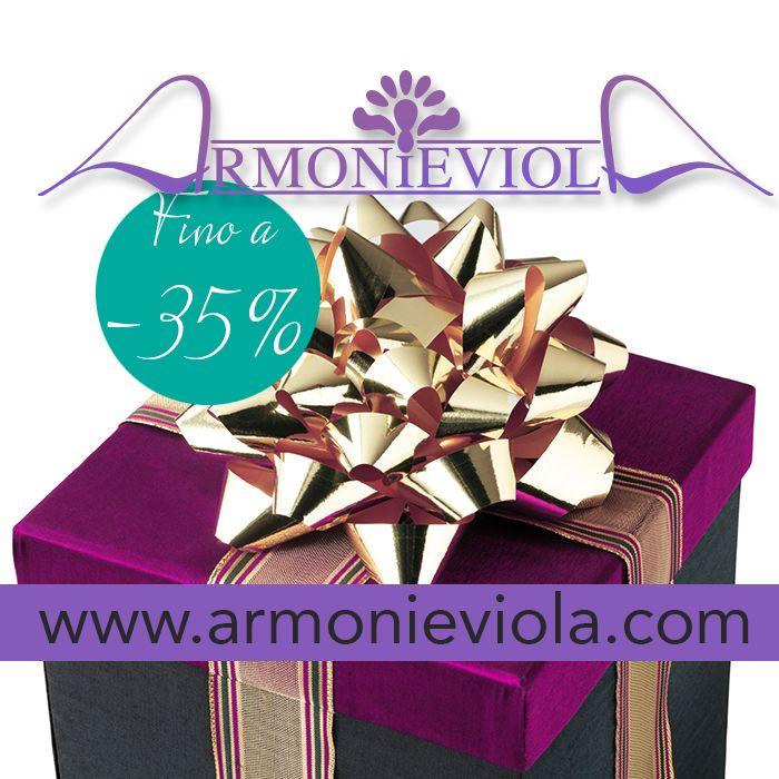 aspettando il Natale tante occasioni per risparmiare ... http://www.armonieviola.com