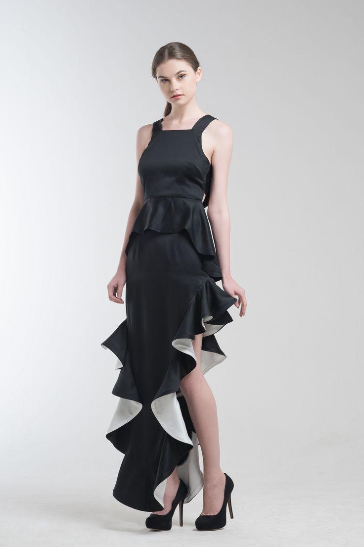 Terry Peplum Top and Ralph Mermaid Skirt from Jolie Clothing  #JolieClothing www.jolie-clothing.com  #Fashion #designer #jolie #Charity #foundation #World #vision #indonesia  #online #shop #stefanitan #fannytjandra #blogger