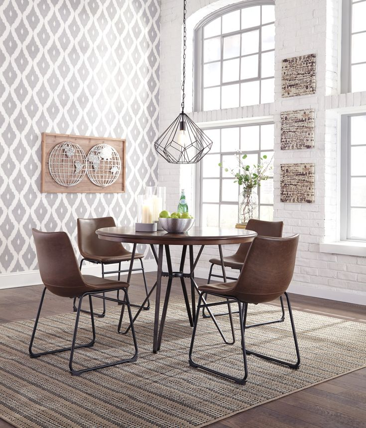 Centiar 5-Piece Dining Room Set #diningroomset #diningroomdecor #diningroomfurniture #diningroom