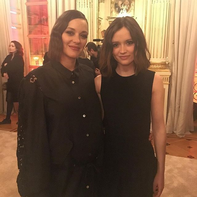 @marioncotillard avec sa filleule Marilyn Lima (Bang Gang d'Eva Husson) #revelations #chaumet #cesar2017 #grazia #graziafrance #marioncotillard  via GRAZIA FRANCE MAGAZINE OFFICIAL INSTAGRAM - Fashion Campaigns  Haute Couture  Advertising  Editorial Photography  Magazine Cover Designs  Supermodels  Runway Models