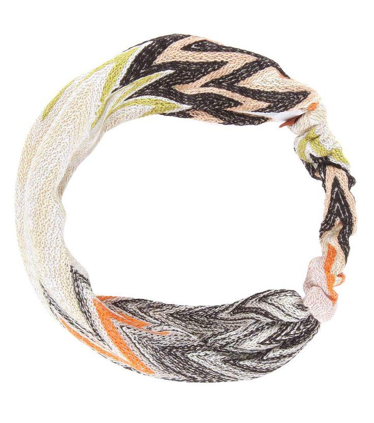 MISSONI Wool-blend crochet headband. #missoni #hair accessories
