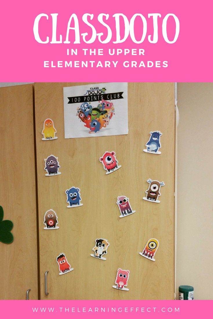 ClassDojo is not just for primary grades - it can work in the upper elementary grades, too! I have personally used ClassDojo in 2nd, 3rd, 4th, 5th, and 6th grades. In this blog post, you'll find ideas, rewards, points to give and take, how to use monsters in the classroom, and more! Free printables are included in this article!