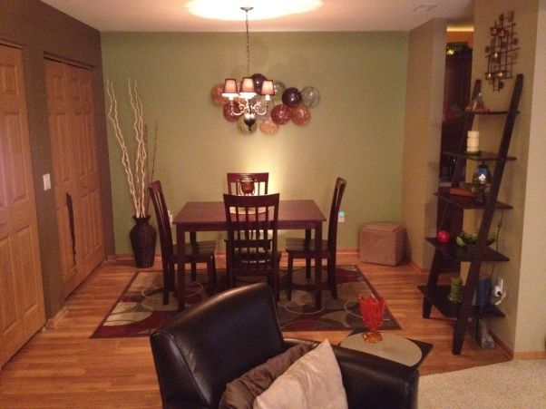 Small Condo Living Room And Dining Area A That Combine With