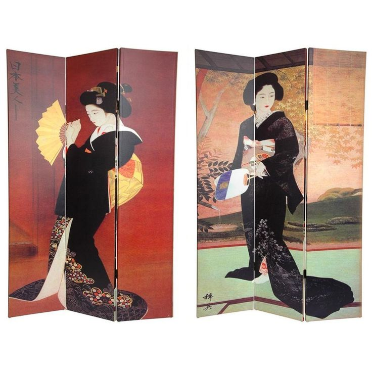 Handmade Canvas Double-sided Japanese Room Divider (China) by ORIENTAL  FURNITURE - 25+ Best Ideas About Japanese Room Divider On Pinterest Shoji