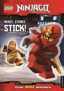 LEGO Ninjago: Ready, Steady, Stick!: Sticker Activity Book